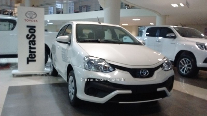 etios 1.5 xs 16v flex 4p manual 2018 caxias do sul