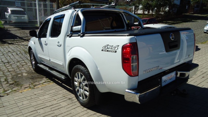 frontier 2.5 sl 10 anos 4x4 cd turbo eletronic diesel 4p automatico 2013 caxias do sul