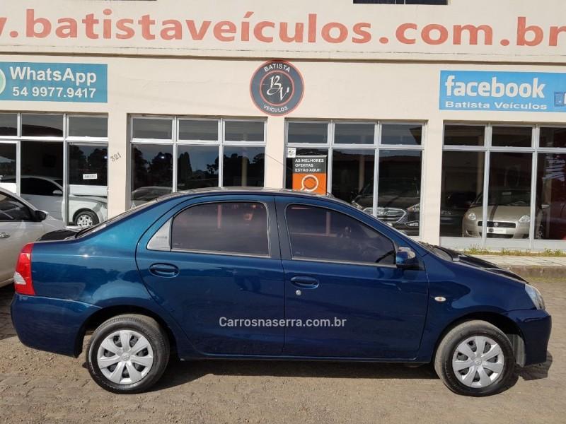 etios 1.5 xs sedan 16v flex 4p manual 2015 sao francisco de paula