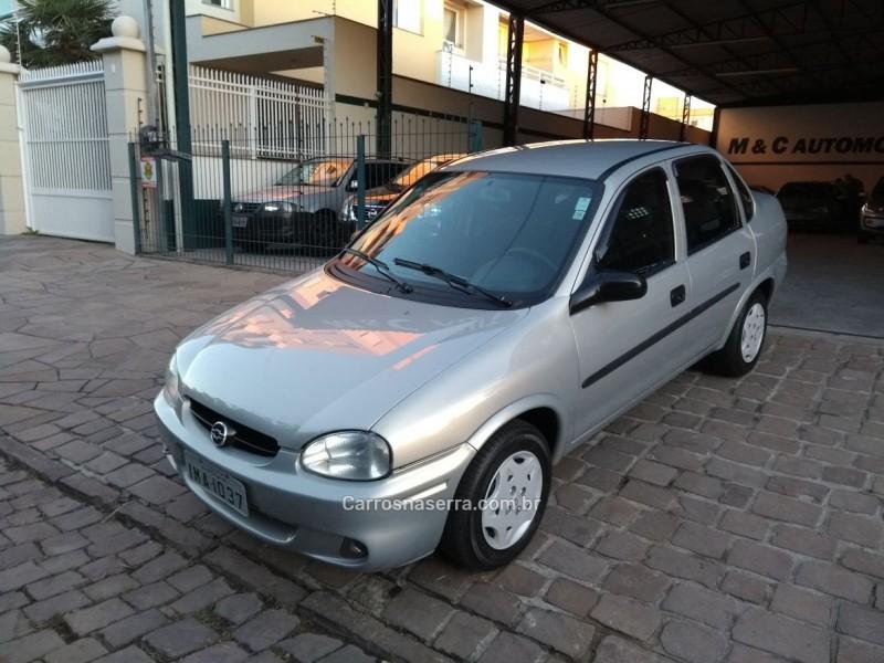 classic 1.6 mpfi life 8v gasolina 4p manual 2005 caxias do sul