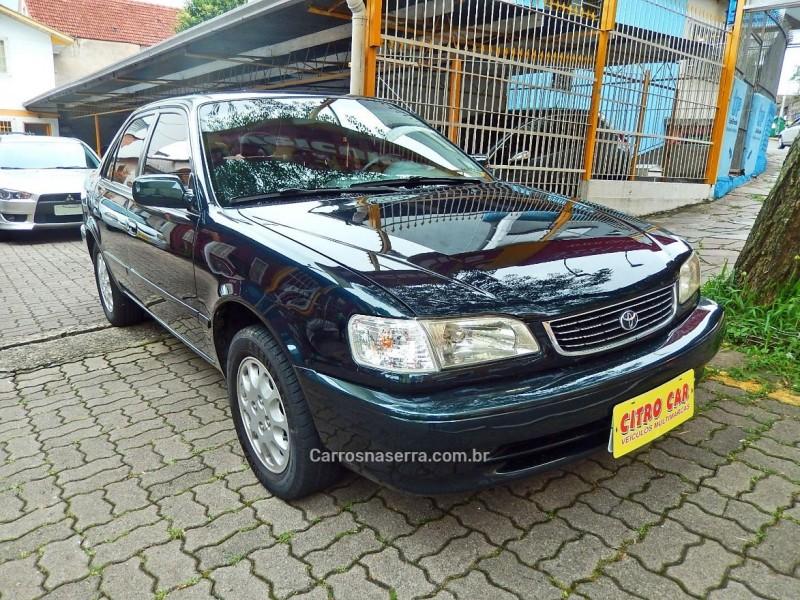 corolla 1.8 xei 16v gasolina 4p automatico 2001 caxias do sul