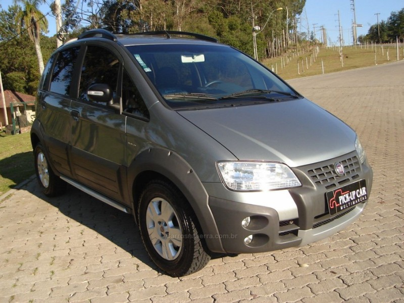 idea 1.8 mpi adventure 16v flex 4p automatizado 2010 caxias do sul