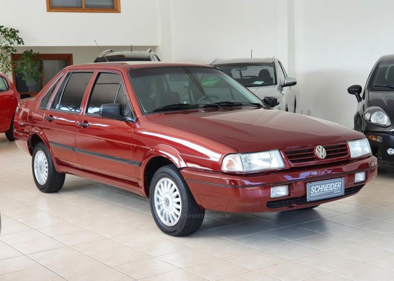 santana 1.8 mi 8v gasolina 4p manual 1997 nova petropolis