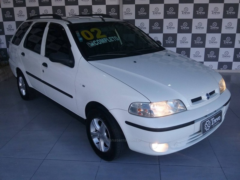 palio 1.0 mpi weekend elx 16v gasolina 4p manual 2002 taquara