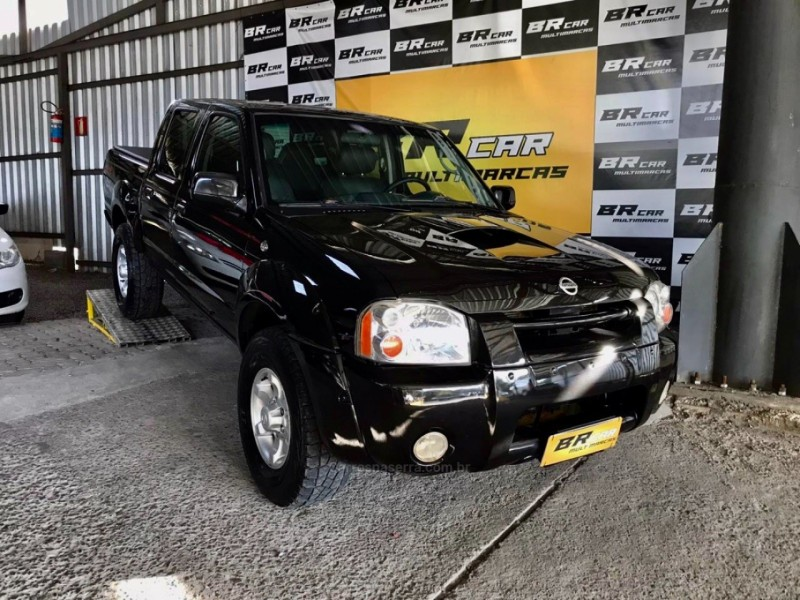 frontier 2.8 se 4x4 cd turbo diesel 4p manual 2004 caxias do sul