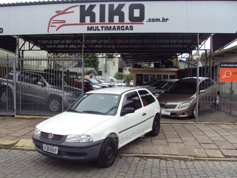 gol 1.0 8v gasolina 2p manual 2003 caxias do sul