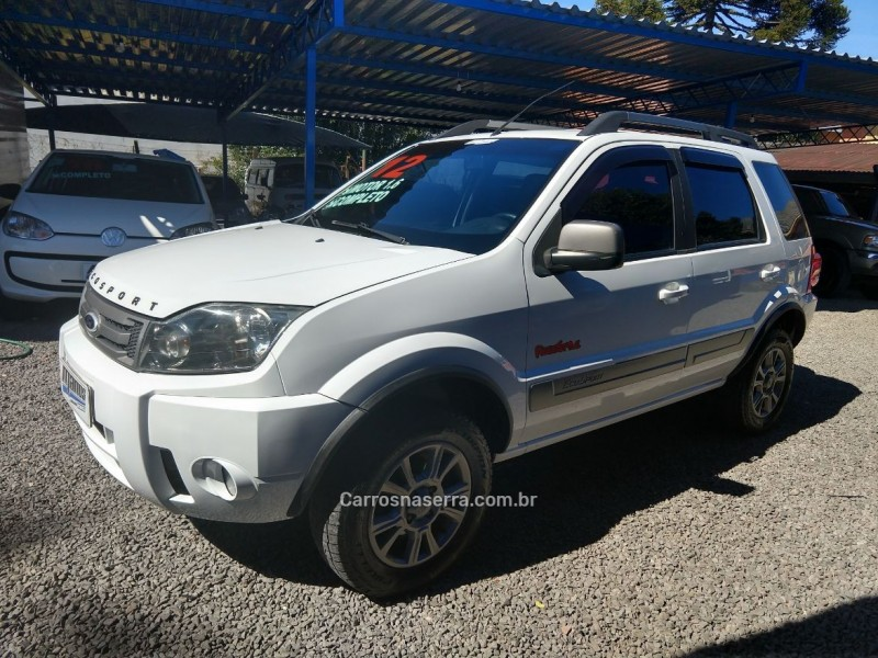 ecosport 1.6 xlt freestyle 8v flex 4p manual 2012 canela