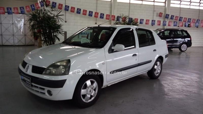 clio 1.6 privilege sedan 16v gasolina 4p manual 2004 caxias do sul