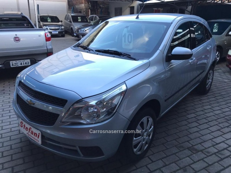 agile 1.4 mpfi lt 8v flex 4p manual 2010 feliz