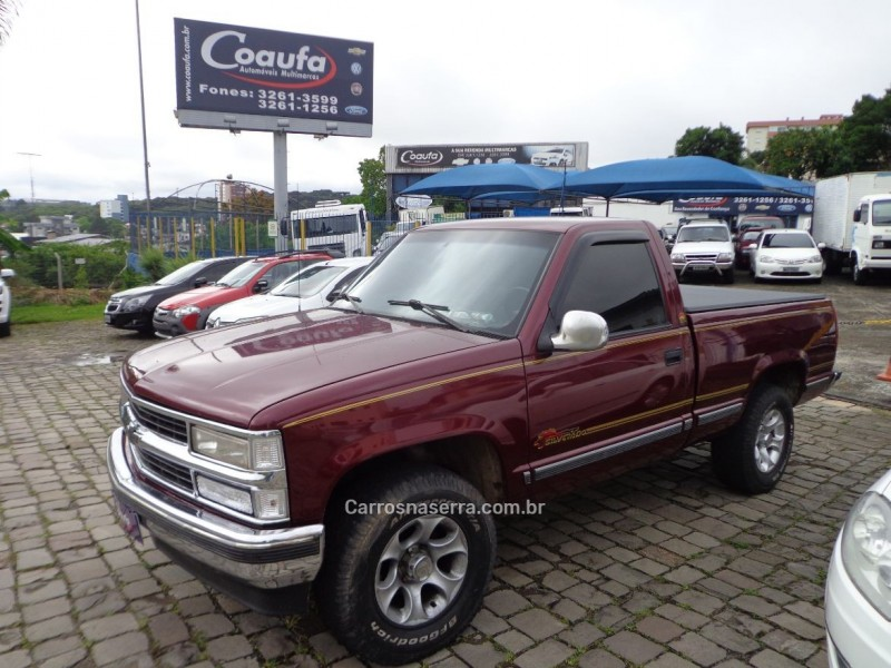 silverado 4.2 conquest 4x2 cs 18v turbo intercooler diesel 2p manual 1998 farroupilha