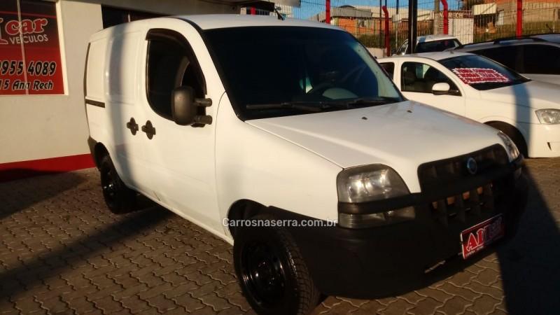 doblo 1.3 mpi fire cargo 16v 80cv gasolina 4p manual 2005 caxias do sul