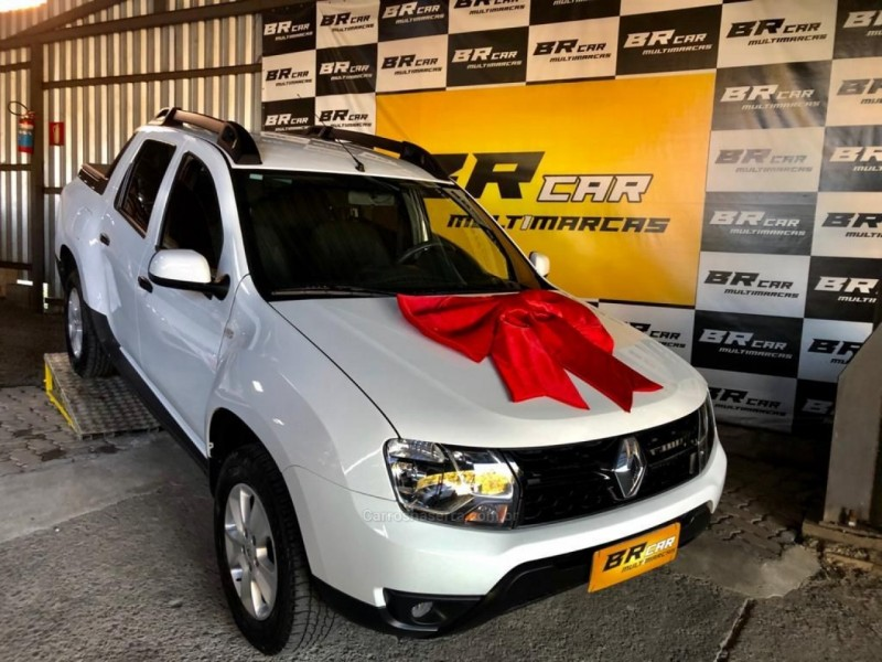 duster oroch 1.6 16v flex expression 4p manual 2017 caxias do sul