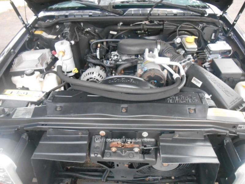 BLAZER 4.3 SFI DLX EXECUTIVE 4X2 V6 12V GASOLINA 4P MANUAL - 2002 - PASSO FUNDO