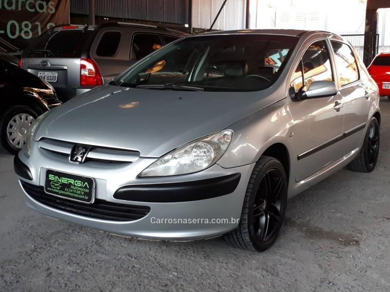 307 1.6 rallye 16v gasolina 4p manual 2003 caxias do sul