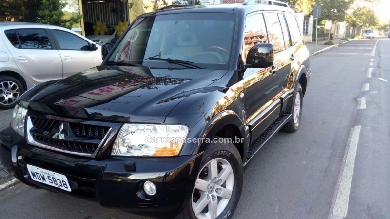 pajero full 3.2 hpe 4x4 16v turbo intercooler diesel 4p automatico 2005 garibaldi