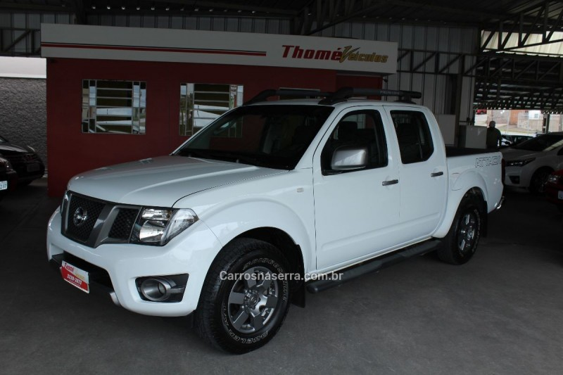 frontier 2.5 sv attack 4x2 cd turbo eletronic diesel 4p manual 2015 caxias do sul
