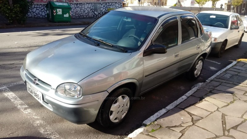 corsa 1.6 mpfi gl 8v gasolina 4p manual 1997 caxias do sul