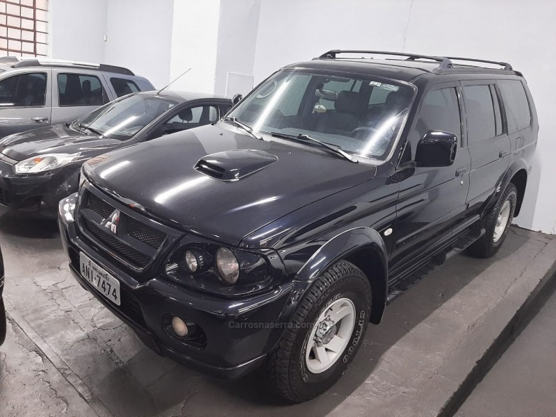 pajero full 2.8 gls 4x4 8v turbo intercooler diesel 4p manual 2005 bento goncalves