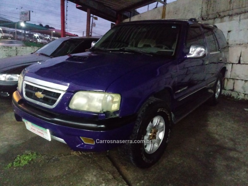 blazer 2.2 efi dlx 4x2 8v gasolina 4p manual 1996 caxias do sul