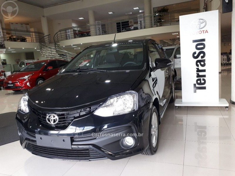 etios 1.5 xls sedan 16v flex 4p automatico 2018 caxias do sul
