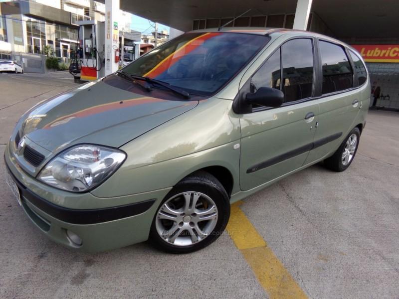 scenic 1.6 authentique 16v gasolina 4p manual 2004 caxias do sul