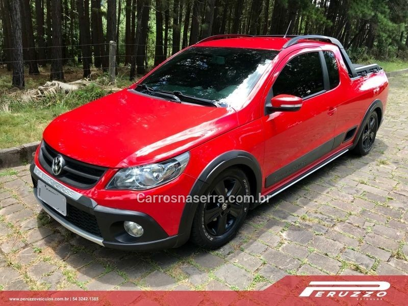 saveiro 1.6 cross ce 8v flex 2p manual 2011 nova prata