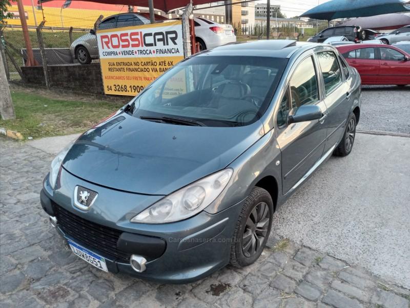 307 2.0 griffe sedan 16v gasolina 4p automatico 2007 farroupilha