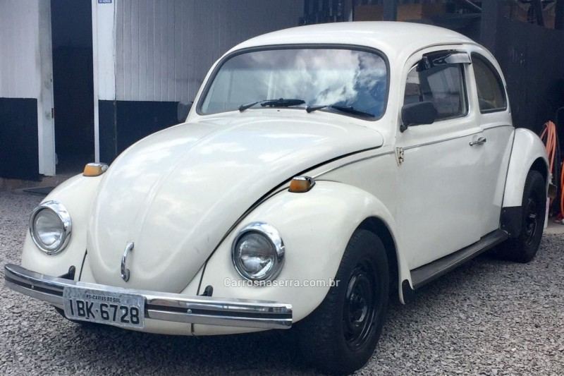 fusca 1.6 8v gasolina 2p manual 1977 caxias do sul