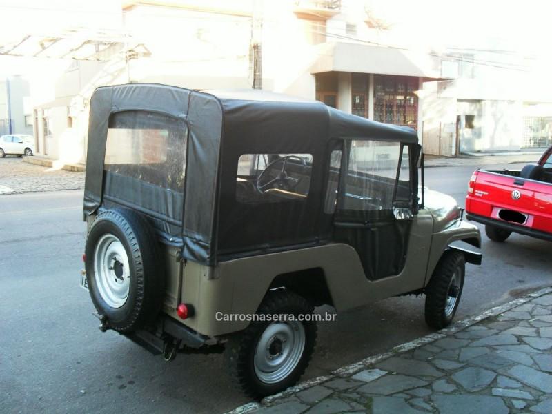 JEEP  - 1964 - BENTO GONçALVES