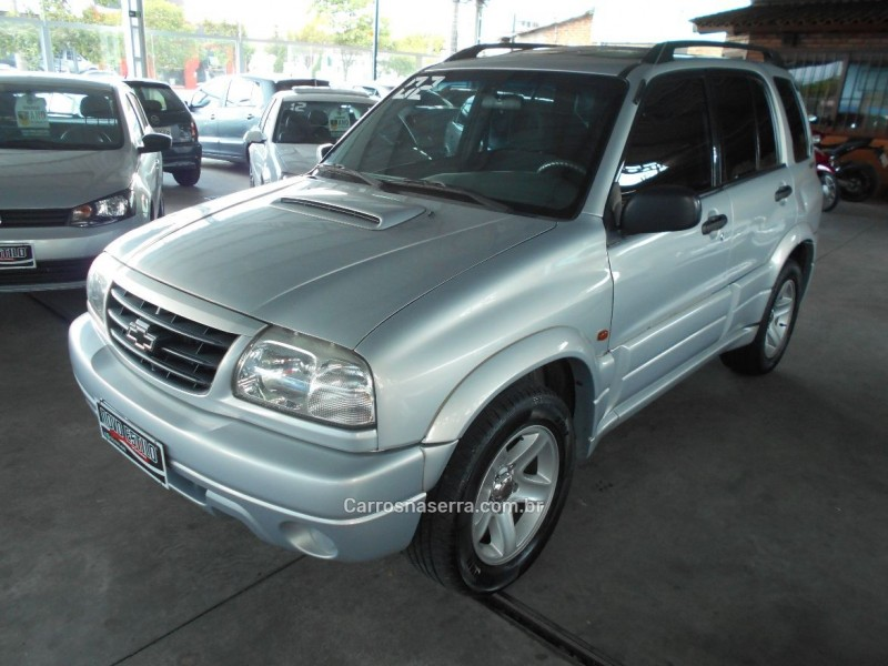 tracker 2.0 4x4 8v turbo intercooler diesel 4p manual 2002 caxias do sul