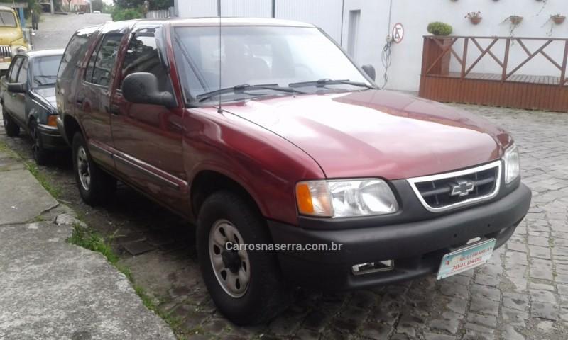blazer 2.4 mpfi 4x2 8v gasolina 4p manual 1996 caxias do sul