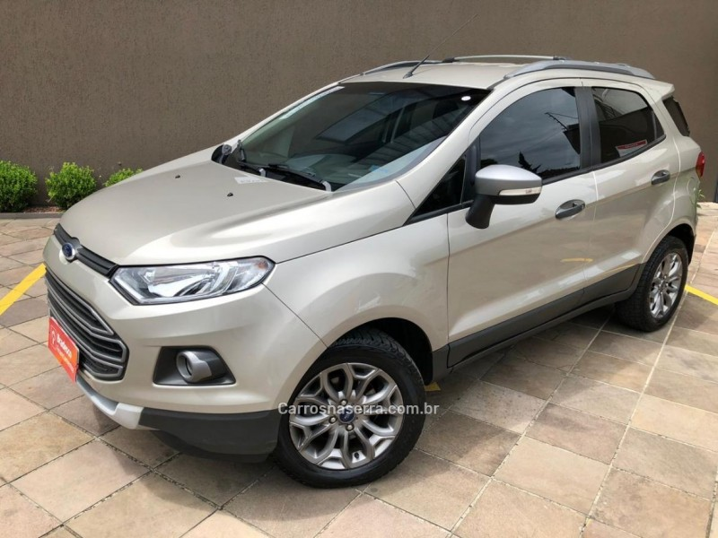 ecosport 2.0 freestyle 16v flex 4p powershift 2015 caxias do sul