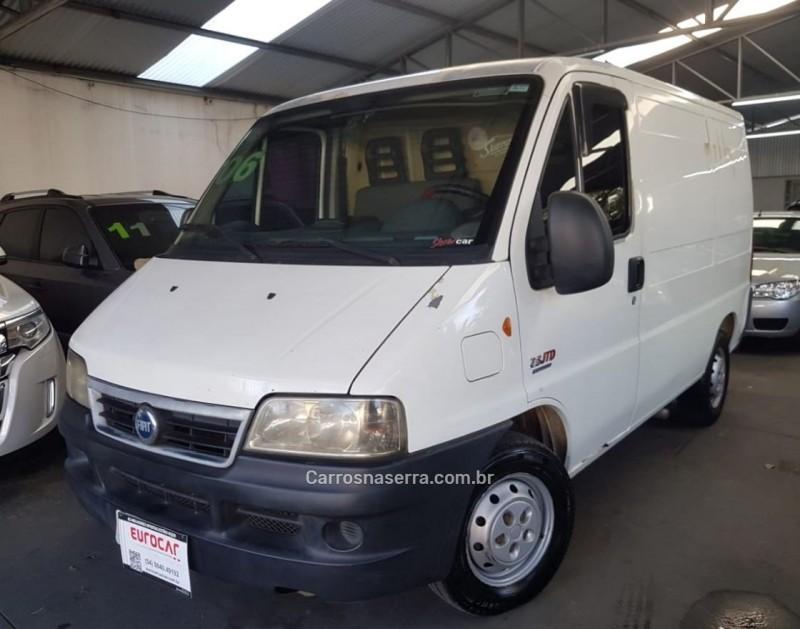 ducato 2.8 cargo curto 8v turbo diesel 3p manual 2006 caxias do sul