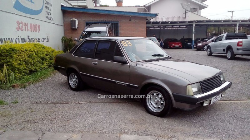 chevette 1.6 sl 8v alcool 2p manual 1983 caxias do sul