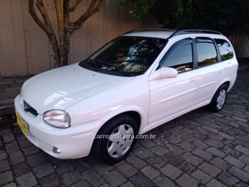 corsa 1.6 mpfi gls wagon 16v gasolina 4p manual 1999 caxias do sul