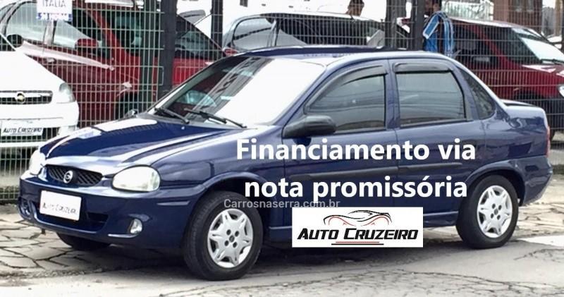corsa 1.0 mpfi classic sedan 8v gasolina 4p manual 2000 caxias do sul
