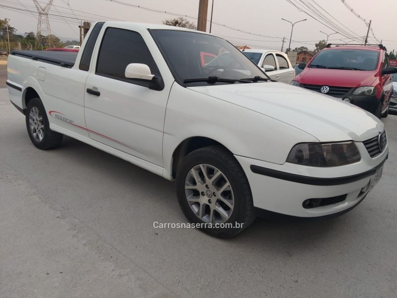 saveiro 1.6 mi cs 8v flex 2p manual g.v 2003 caxias do sul