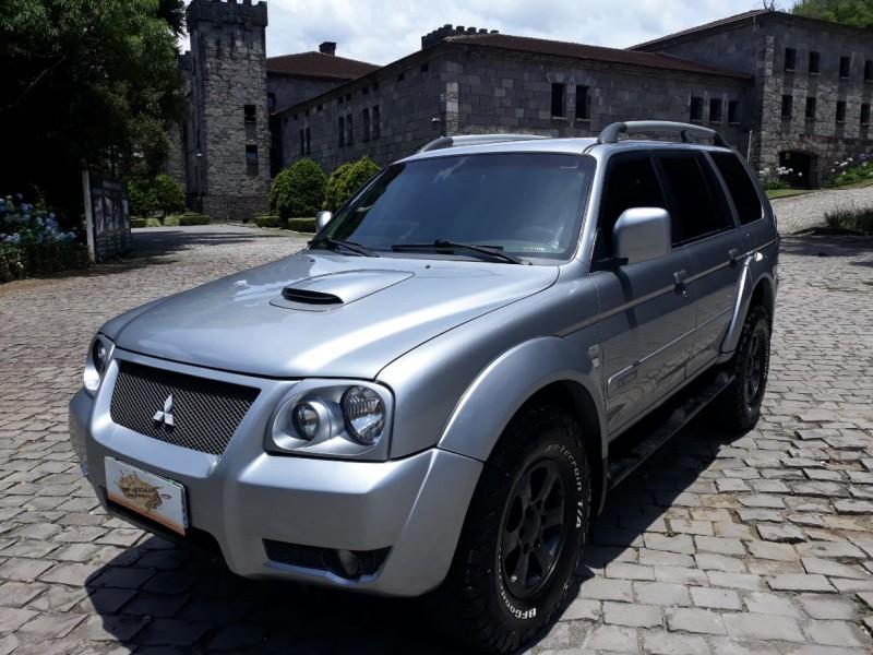 pajero sport 2.5 4x4 8v turbo intercooler diesel 4p automatico 2007 caxias do sul