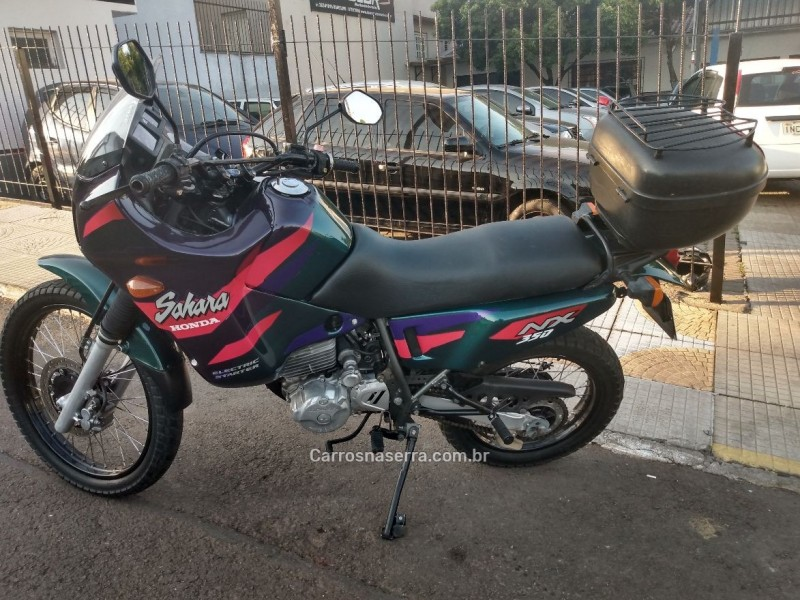 nx 350 sahara 1997 bom principio