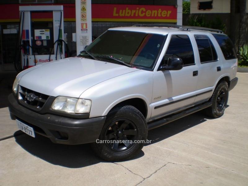 blazer 2.2 mpfi std 4x2 8v gasolina 4p manual 1999 caxias do sul