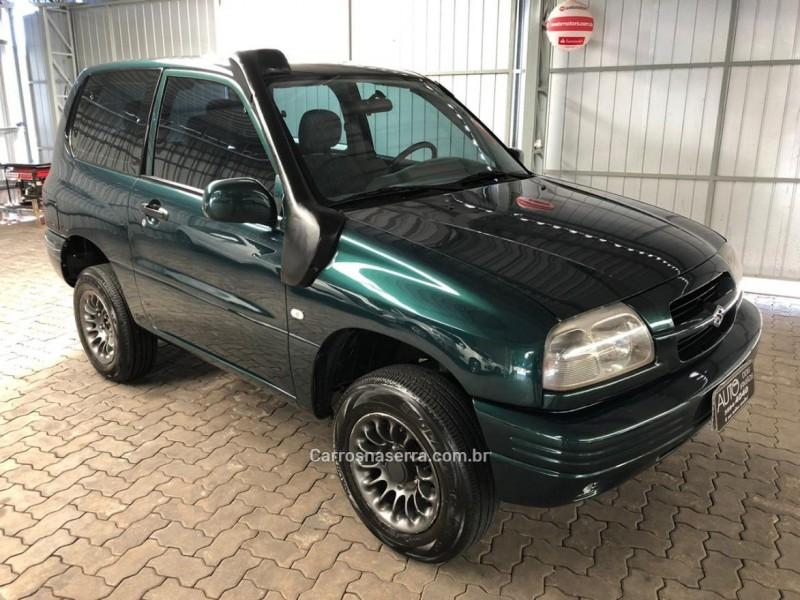 grand vitara 1.6 4x4 16v gasolina 2p automatico 1999 dois irmaos