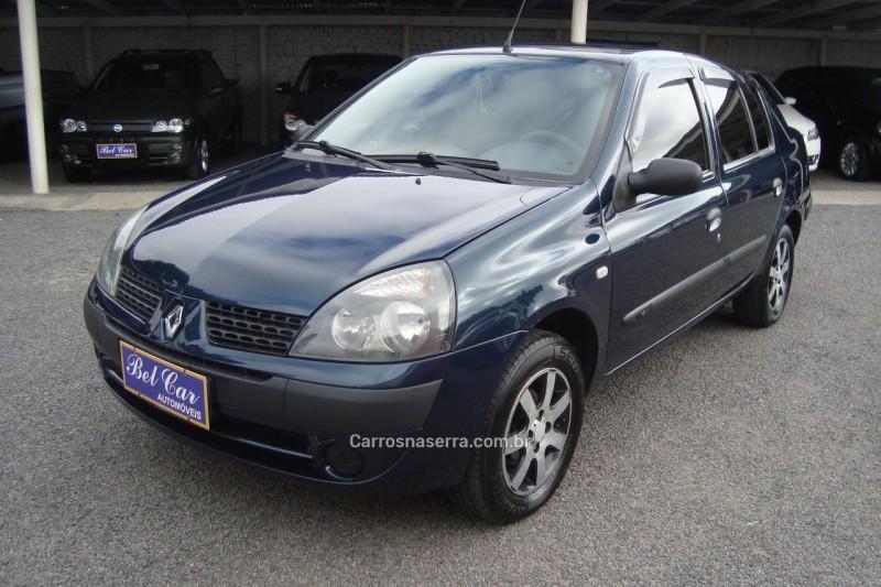 clio 1.0 expression sedan 16v gasolina 4p manual 2004 caxias do sul