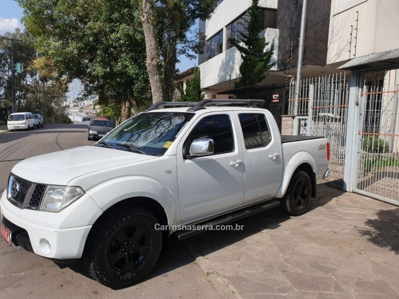 frontier 2.5 le 4x4 cd turbo eletronic diesel 4p automatico 2011 caxias do sul