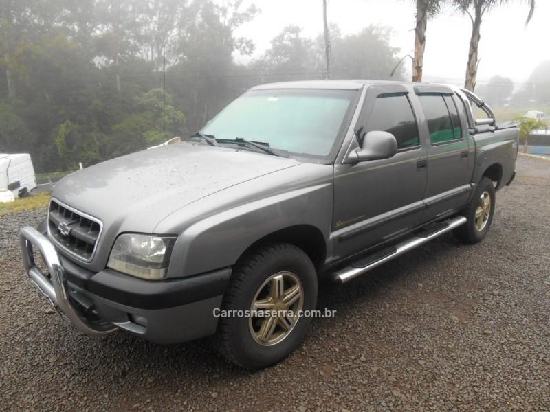 s10 2.8 executive 4x2 cd 12v turbo intecooler diesel 4p manual 2004 caxias do sul