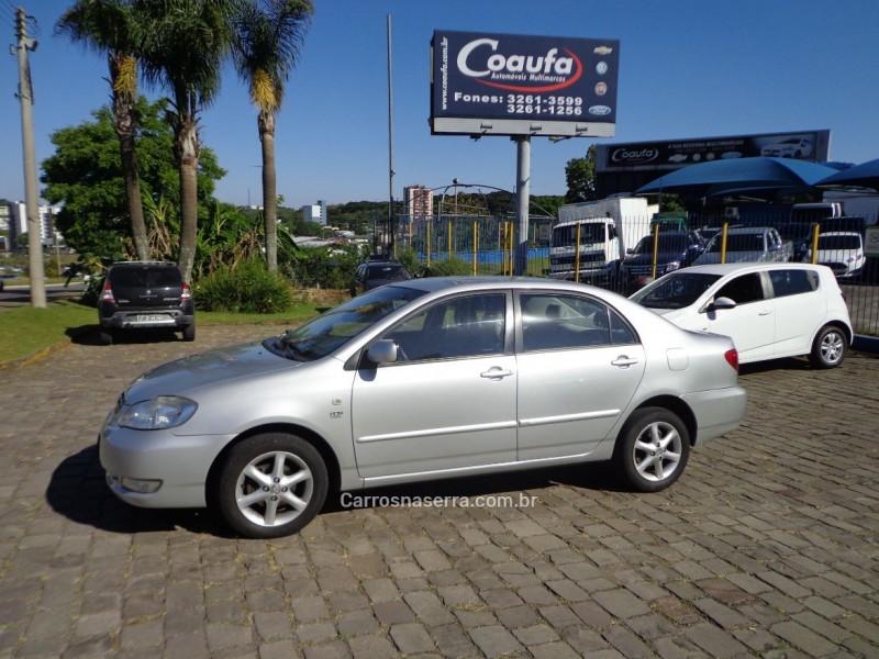 corolla 1.8 xei 16v gasolina 4p automatico 2008 farroupilha