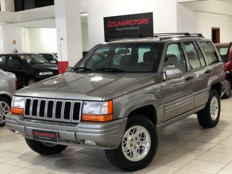 grand cherokee 5.2 limited 4x4 v8 16v gasolina 4p automatico 1997 caxias do sul