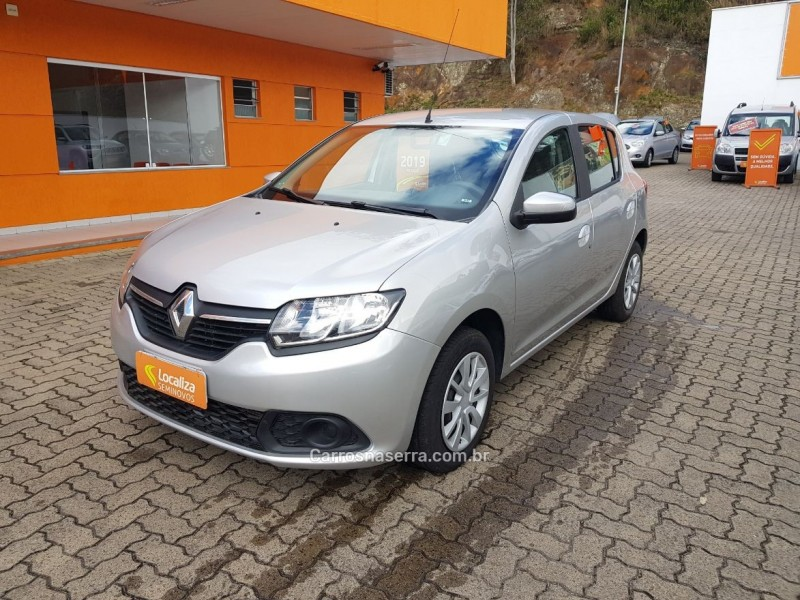 sandero 1.6 expression 16v flex 4p manual 2019 caxias do sul