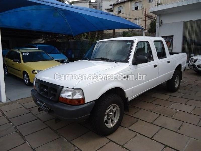 ranger 2.2 xl 4x4 cd 16v diesel 4p manual 2001 caxias do sul
