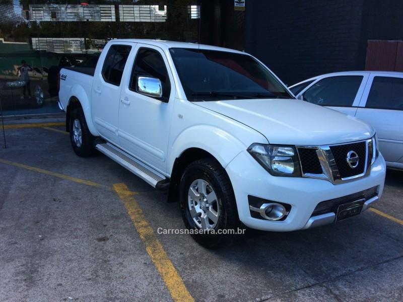frontier 2.5 platinum 4x4 cd turbo eletronic diesel 4p automatico 2014 caxias do sul