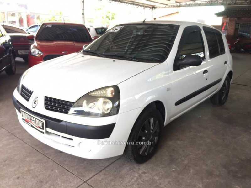 clio 1.0 authentique 16v gasolina 4p manual 2005 caxias do sul